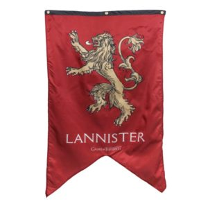 BUY GAME OF THRONES LANNISTER HOUSE BANNER IN WHOLESALE ONLINE