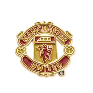 BUY MANCHESTER UNITED TEAM CREST PIN IN WHOLESALE ONLINE