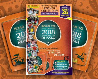 2018 PANINI ROAD TO THE WORLD CUP STICKERS