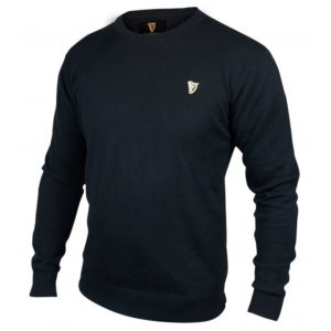 BUY GUINNESS CLASSIC BLACK COTTON SWEATER ONLINE