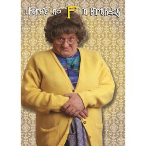 BUY MRS. BROWN'S BOYS NO F BIRTHDAY CARD IN WHOLESALE ONLINE