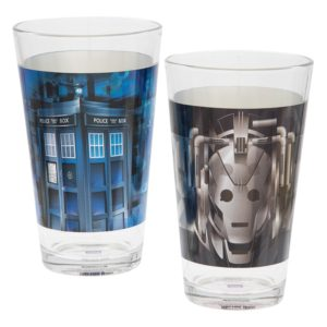 BUY DOCTOR WHO LASER DECAL GLASS SET IN WHOLESALE ONLINE