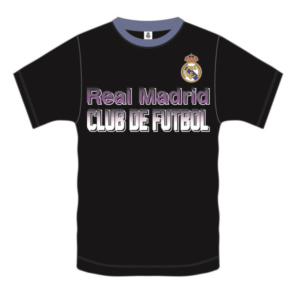 8e202f60c05c62 BUY YOUTH REAL MADRID BLACK POLY T-SHIRT IN WHOLESALE ONLINE