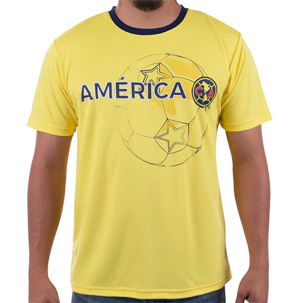 BUY CLUB AMERICA POLY T-SHIRT IN WHOLESALE ONLINE