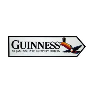 BUY GUINNESS METAL TOUCAN JAMES GATE ROAD SIGN IN WHOLESALE ONLINE