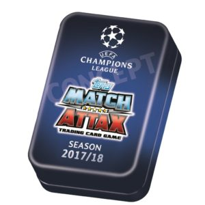 2017-18 TOPPS MATCH ATTAX CHAMPIONS LEAGUE CARDS