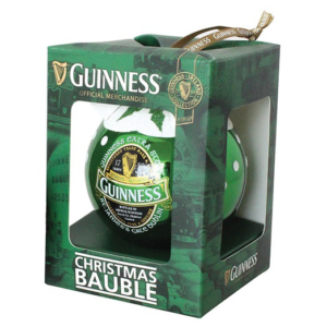 BUY GUINNESS GREEN IRELAND COLLECTION CHRISTMAS BAUBLE IN WHOLESALE ONLINE
