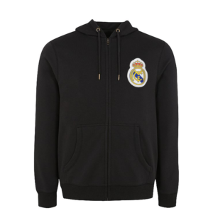 BUY REAL MADRID NAVY SPORTSWEAR ZIP UP HOODIE IN WHOLESALE ONLINE