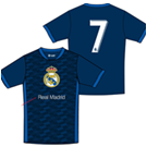 BUY REAL MADRID RONALDO NAVY YOUTH T-SHIRT IN WHOLESALE ONLINE