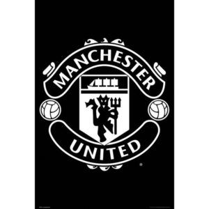 BUY MANCHESTER UNITED CREST POSTER IN WHOLESALE ONLINE