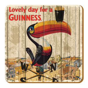 BUY GUINNESS NOSTALGIC IRELAND TOUCAN COASTERS IN WHOLESALE ONLINE!