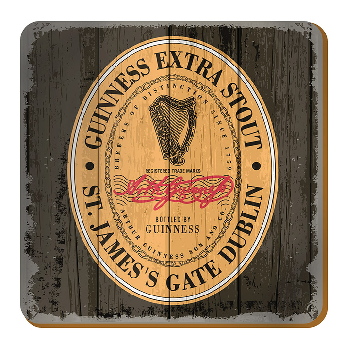 Buy Guinness Nostalgic Heritage Label Coasters In