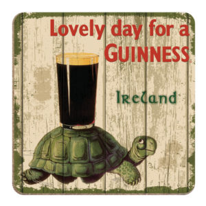 BUY GUINNESS NOSTALGIC IRELAND TORTOISE COASTERS IN WHOLESALE ONLINE!