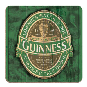 BUY GUINNESS NOSTALGIC IRELAND LABEL COASTERS IN WHOLESALE ONLINE!