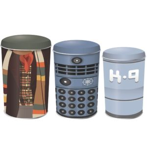 BUY DOCTOR WHO CANISTERS IN WHOLESALE ONLINE