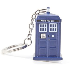 BUY DOCTOR WHO TARDIS FLASHLIGHT KEYCHAIN IN WHOLESALE ONLINE!
