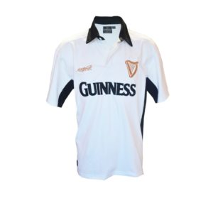 BUY GUINNESS WHITE BLACK RUGBY SHIRT IN WHOLESALE ONLINE