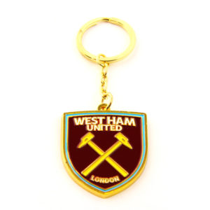 BUY WEST HAM CREST KEYCHAIN IN WHOLESALE ONLINE