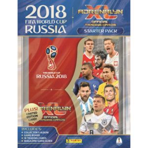 BUY 2018 PANINI ADRENALYN WORLD CUP CARDS STARTER PACK IN WHOLESALE ONLINE