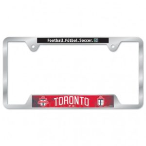 BUY TORONTO FC METAL LICENSE PLATE FRAME IN WHOLESALE ONLINE!