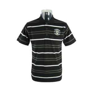 BUY GUINNESS BLACK STRIPED POLO SHIRT IN WHOLESALE ONLINE!