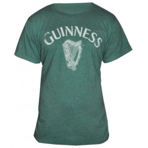 BUY GUINNESS HEATHERED HARP T-SHIRT IN WHOLESALE ONLINE