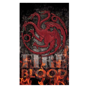 BUY GAME OF THRONES FIRE IS BLOOD BANNER IN WHOLESALE ONLINE