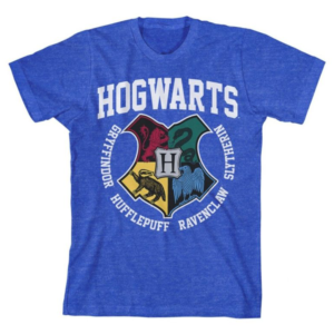 BUY HARRY POTTER BLUE HOGWARTS YOUTH T-SHIRT IN WHOLESALE ONLINE