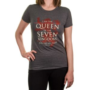 BUY GAME OF THRONES QUEEN OF THE SEVEN KINGDOMS LADIES T-SHIRT IN WHOLESALE ONLINE