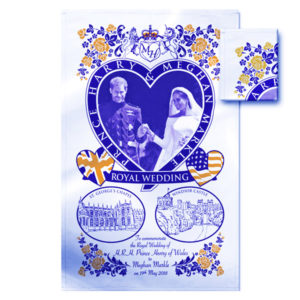 BUY ROYAL WEDDING WEDDING DAY TEA TOWEL IN WHOLESALE ONLINE