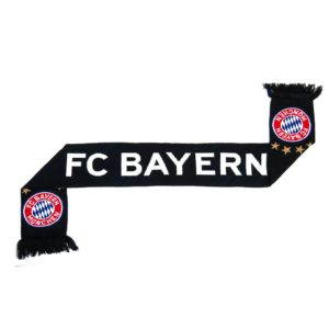 BUY BAYERN MUNICH BLACK SCARF IN WHOLESALE ONLINE