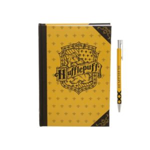 BUY HARRY POTTER HUFFLEPUFF JOURNAL PEN SET IN WHOLESALE ONLINE