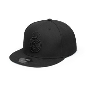 BUY REAL MADRID BLACK FLAT PEAK SNAPBACK IN WHOLESALE ONLINE