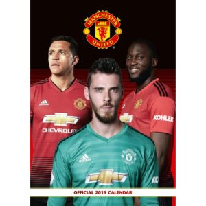 BUY 2019 MANCHESTER UNITED CALENDAR IN WHOLESALE ONLINE