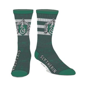 BUY HARRY POTTER SLYTHERIN SCHOOL CREST CREW SOCKS IN WHOLESALE ONLINE