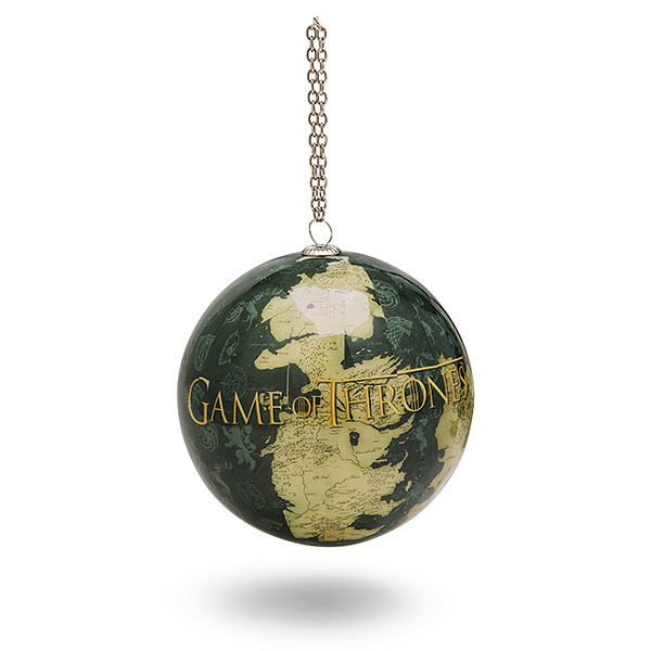 BUY GAME OF THRONES MAP GLASS BALL ORNAMENT IN WHOLESALE ONLINE