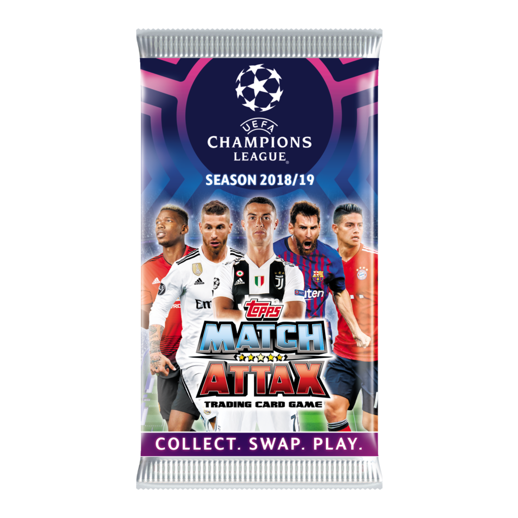 Buy 2018-19 Topps Match Attax Champions League Cards Box