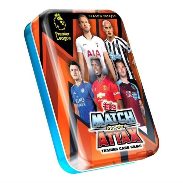 BUY 2018-19 TOPPS MATCH ATTAX EPL CARDS MINI TIN IN WHOLESALE ONLINE