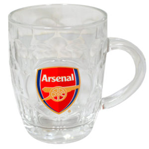 BUY ARSENAL GLASS TANKARD IN WHOLESALE ONLINE!