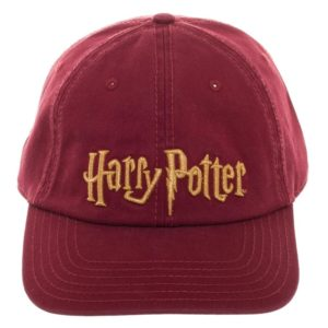 BUY HARRY POTTER EMBROIDERED LOGO BASEBALL HAT IN WHOLESALE ONLINE