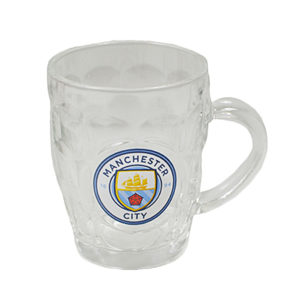 BUY MANCHESTER CITY GLASS TANKARD IN WHOLESALE ONLINE!