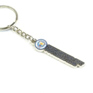 BUY MANCHESTER CITY TEXT KEYCHAIN IN WHOLESALE ONLINE!