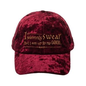 BUY HARRY POTTER VELVET SOLEMNLY SWEAR BASEBALL HAT IN WHOLESALE ONLINE