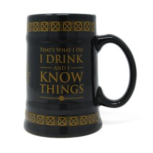 BUY GAME OF THRONES I DRINK AND I KNOW THINGS TANKARD IN WHOLESALE ONLINE