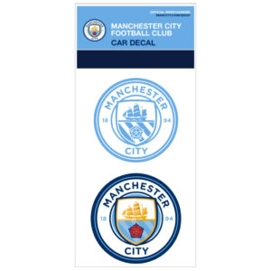BUY MANCHESTER CITY CAR DECAL IN WHOLESALE ONLINE