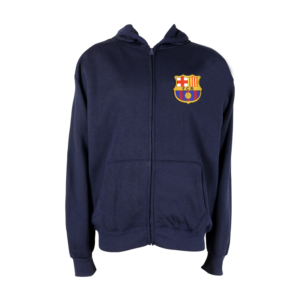 BUY BARCELONA SPORTSWEAR ZIP-UP HOODIE IN WHOLESALE ONLINE