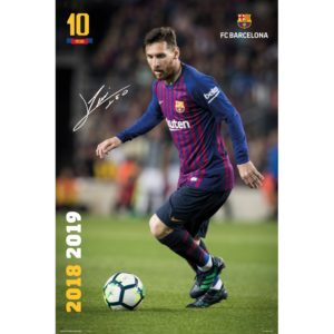 BUY LIONEL MESSI 2018-19 ACTION POSTER IN WHOLESALE ONLINE