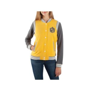 BUY HARRY POTTER HUFFLEPUFF VARSITY YOUTH JACKET IN WHOLESALE ONLINE