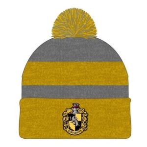 BUY HARRY POTTER HUFFLEPUFF MARLED POM KNIT BEANIE IN WHOLESALE ONLINE
