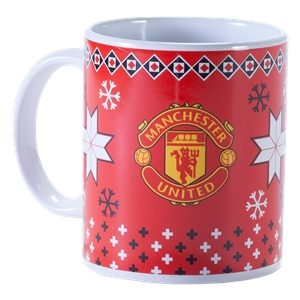 BUY MANCHESTER UNITED CHRISTMAS MUG IN WHOLESALE ONLINE!